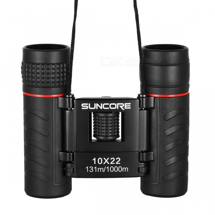 Outdoor Mini Pocket Folding 10X22 Binocular Telescope Bird Watching Wildlife Hunting with Lens Cloth Carrying Bag Lanyard blackBinoculars And Telescopes<br>Description<br><br><br><br><br>Brand Name: Beileshi<br><br><br>Type: Binoculars<br><br><br><br><br><br><br><br><br><br><br>Features:<br>BAK4 prism binocular with 10X powerful magnification and 22mm objective lens.<br>Fully multi-coated optics guarantees superior light transmission and brightness.<br>Secured non-slip rubber armor for comfort grip and shock absorption.<br>Prevent fogging, clouding and damage from the accumulation of moisture.<br>Adjustable width for different size faces, suitable for adults and kids, stretchable width: 6.1-10.3cm / 2.4-4.0in.<br>Lightweight and fits in your pocket, convenient and easy to carry.<br>Perfect for sports, wildlife, concerts, sightseeing, hunting, birdwatching or travel.<br>&amp;nbsp;<br>Specification: <br>Material: Optical glass &amp;amp; Rubber<br>Magnification: 10X<br>Objective lens: 22mm&amp;nbsp;<br>Eyepiece: 11mm<br>Prism coating: Multicoated<br>Field of view: 131m / 1000m<br>Prism: BAK4<br>Exit Pupil Diameter: 2.2mm<br>Min. Focal Length: 4.0m / 13ft<br>Size: 9.3 * 6.1 * 3.1cm / 3.7 * 2.4 * 1.2in<br>Weight: 170g / 6.0oz<br>&amp;nbsp;<br>Package List:<br>1 * Binocular<br>1 * Carrying Pouch<br>1 * Lens Cloth<br>1 * Lanyard<br>
