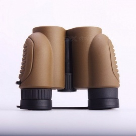 10x22 Outdoor Hunting Military Standard Grade High-Powered Binoculars, HD Spectacles Monocular Telescope coffee