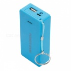 DIY 5V 1A 2 x 18650 Battery Power Bank Charger Case Box with LED Indicator for Cell Phone (Battery Not Included) Blue