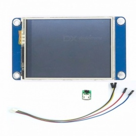"Aihasd English Nextion 2.4"" TFT 320 x 240 Resistive Touch Screen UART HMI Smart Raspberry PI LCD Module Display for Arduino blue"