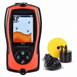LUCKY FF1108-1 FF1108-1CT Portable Fish Finder Depth Sonar Sounder Alarm Waterproof Fishfinder Sonar Tool FF1108-1CT