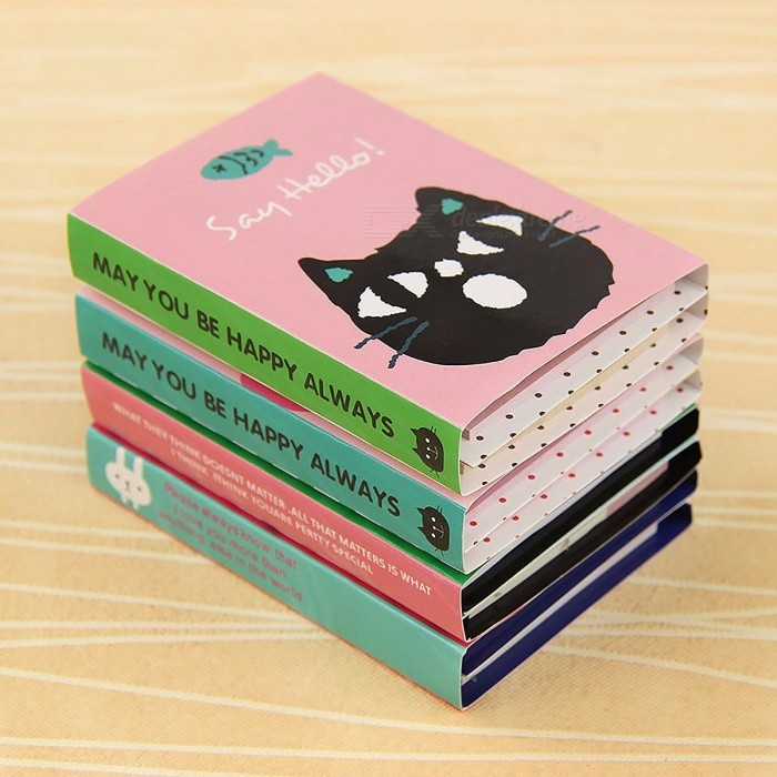 1Pc Creative 180 Pages Sticker Mini Animal Sticky Note, 4-Folding Memo Pad Gift School Stationery Supplies randomNotebook &amp; Tags<br>Description<br><br><br><br><br>Style: Memo Pads<br><br><br>Customized: No<br><br><br><br><br>Feature: Self-Adhesive<br><br><br>Brand Name: PTDWCR<br><br><br><br><br>Function: Decoration<br><br><br>Adhesive Or Not: Yes<br><br><br><br><br>Magnetism: No<br><br><br><br><br><br><br><br><br><br><br><br>100% brand new and high quality<br> Product Description: Cute creative four fold n times Sticker<br> Material:paper<br> Unfolded Size:about 26x8 cm<br> Collapsed Size: about 8.5*6cm<br> Page:1 PCS Memo Pad about 180 Page<br> Style:4 design as the picture (Do not support the selection of styles, color styles randomly sent)<br> Package:1pcs*Four fold n times Sticker<br>