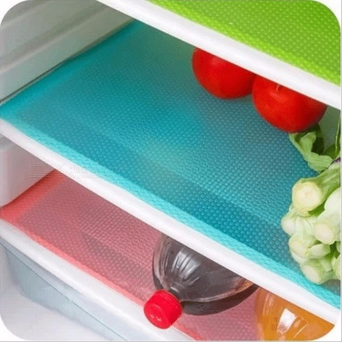 Hoomall 4PCs/Set Waterproof Antibacterial Antifouling Mildew Moisture Tailorable Refrigerator Pads, Fridge Mats  BlueDescription<br><br><br><br><br>Table Decoration &amp;amp; Accessories Type: Mats &amp;amp; Pads<br><br><br>Style: Modern<br><br><br><br><br>Shape: Square<br><br><br>Feature: Stocked,Eco-Friendly<br><br><br><br><br>Brand Name: hoomall<br><br><br>Material: Other<br><br><br><br><br><br><br><br><br><br><br><br><br><br><br>Condition : <br><br><br>100% New <br><br><br><br><br>Material : <br><br><br>EVA <br><br><br><br><br>Size : <br><br><br>45cm*29cm <br><br><br><br><br>Color : <br><br><br>As The Picture <br><br><br><br><br>Quantity : <br><br><br>4PCs<br>