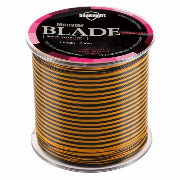 SeaKnight Professional Premium Durable 500m Multicolor Nylon Fishing Line, Monofilament Fishing Wire  3.0/MultiFishing Lines &amp; Hooks<br>Description<br><br><br><br><br>With Ruler or Not: No<br><br><br>With Scale or Not: No<br><br><br><br><br>Position: Reservoir Pond,River,Ocean Boat Fishing,Ocean Beach Fishing,Ocean Rock Fshing,Lake,Stream<br><br><br>Brand Name: SeaKnight<br><br><br><br><br>Material: Nylon<br><br><br>Shape: Level<br><br><br><br><br>Buoyancy Characteristic: Floating Line<br><br><br><br><br><br><br><br><br><br>Strength Test Range: 8-25LB <br><br><br>Water Absorption: No <br><br><br>Memory: Yes <br><br><br>Strength Test Range(KG): 3.62-11.35KG <br><br><br>Suitable: Freshwater/Saltwater<br>