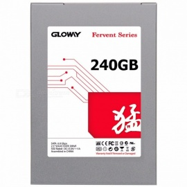"Gloway SATA III Internal Solid State Hard Drive Disk, 2.5"" HDD SSD for Laptop Desktop Server           FER 60G"