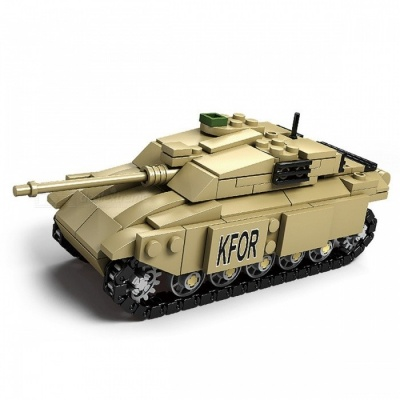 DIY Eductional Toy Tank Building Blocks Sets Christmas Gifts Military Army Cool Blocks Toys for Kids Children  M1A2