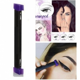 Beauty Makeup Brush Three Size Stamps Eyeliner Tool New Wing Style Kitten Large Size Easy To Makeup Cat Eye Wing Eyeliner Stamp Medium