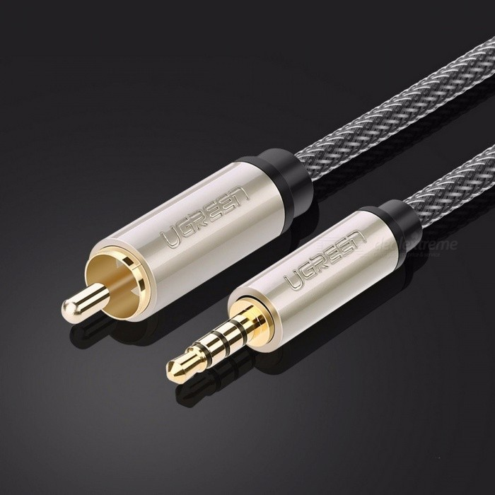 ugreen rca to jack aux cable stereo digital coaxial audio rca cable only applies to. Black Bedroom Furniture Sets. Home Design Ideas