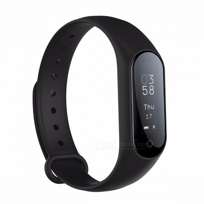 0.87 OLED Bluetooth Smart Watch Bracelet w/ Blood Pressure Heart Rate Monitor, Fitness Tracker for Android IOS BlackSmart Bracelets<br>Description<br><br><br><br><br>ROM: 256mb<br><br><br>APP Download Available: Yes<br><br><br><br><br>Language: French,Italian,Russian,Norwegian,Spanish,Polish,Portuguese,Turkish,English,German<br><br><br>Function: Remote Control,Passometer,Message Reminder,Sleep Tracker,Heart Rate Tracker,Call Reminder,Fitness Tracker<br><br><br><br><br>Case Material: Rubber<br><br><br>Band Detachable: Yes<br><br><br><br><br>Style: Fashion<br><br><br>Network Mode: None<br><br><br><br><br>Multiple Dials: No<br><br><br>Screen Shape: Square<br><br><br><br><br>Brand Name: Seoget<br><br><br>Band Material: Rubber<br><br><br><br><br>Battery Detachable: Yes<br><br><br>CPU Manufacturer: Mediatek<br><br><br><br><br>Camera: None<br><br><br>Movement Type: Electronic<br><br><br><br><br>Application Age Group: Adult<br><br><br>Waterproof Grade: Life Waterproof<br><br><br><br><br>SIM Card Available: No<br><br><br>RAM: &amp;lt;128MB<br><br><br><br><br>Compatibility: All Compatible<br><br><br>System: Android OS<br><br><br><br><br>Mechanism: No<br><br><br>GPS: Yes<br><br><br><br><br>Type: On Wrist<br><br><br>Battery Capacity: &amp;lt;120mAh<br><br><br><br><br><br><br><br><br>Battery capacity: 60mA <br><br><br>Wristband Material: import Rubber+Aluminum Alloy <br><br><br>Total Length: 235mm <br><br><br>Adjustable length: 155mm-210mm <br><br><br>Model: Watch_SGY2P <br><br><br>Compatible: Android and IOS system smartphone <br><br><br>Charging output: 5V 1A <br><br><br><br><br><br><br>CPU<br><br><br>Dialog DA14580<br><br><br><br><br>Pulse sensor<br><br><br>LST1303<br><br><br><br><br>Vibration<br><br><br>Mute/Vibration<br><br><br><br><br>Waterproof<br><br><br>IP67/Life waterproof?Customized waterproof level according to the shell material?<br><br><br><br><br>Platform support<br><br><br>Android 4.3 or above,iOS 8.0 or above<br><br><br><br><br>Hot spot<br><br><br>dynamic and st