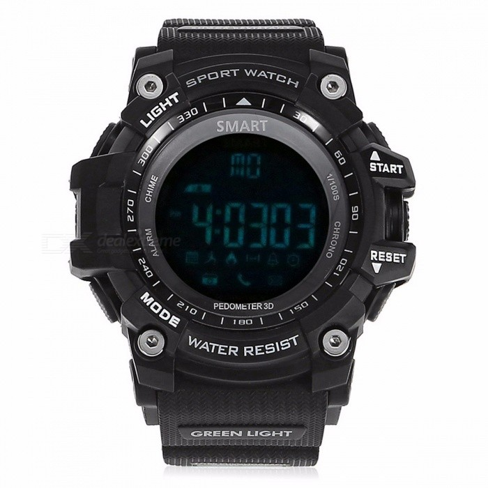 Zeepin Aiwatch XWATCH Waterproof Sport Smart Watch Wristwatch w/ Pedometer, Stopwatch, Message Reminder for Android IOS BlackSmart Watches<br>Description<br><br><br><br><br>Waterproof Grade: Professional Waterproof<br><br><br>Mechanism: Yes<br><br><br><br><br>ROM: &amp;lt;128MB<br><br><br>APP Download Available: No<br><br><br><br><br>Camera: None<br><br><br>Function: Passometer,Message Reminder,Remote Control,Call Reminder<br><br><br><br><br>System: None<br><br><br>Style: Sport<br><br><br><br><br>Movement Type: Electronic<br><br><br>Screen Shape: Round<br><br><br><br><br>Application Age Group: Adult<br><br><br>GPS: No<br><br><br><br><br>SIM Card Available: No<br><br><br>Language: English<br><br><br><br><br>RAM: &amp;lt;128MB<br><br><br>Compatibility: All Compatible<br><br><br><br><br>Battery Capacity: 180-220mAh<br><br><br>Multiple Dials: No<br><br><br><br><br>Network Mode: None<br><br><br>Type: On Wrist<br><br><br><br><br>Brand Name: Zeepin<br><br><br>Case Material: Other<br><br><br><br><br>Band Material: Other<br><br><br><br><br><br><br><br><br><br><br><br>AIWATCH XWATCH Sport Smart Watch - 12 Months Ultra-long Standby Time<br>Main Features:<br>-&amp;nbsp;Bluetooth 4.0&amp;nbsp;connected with mobile phone App&amp;nbsp;XWATCH, stable, fast and super low consumption<br>-&amp;nbsp;Pedometer: set your health goal and view your daily activities, check and analyze data at anytime<br>-&amp;nbsp;Remote camera within 10m: taking selfie photos has never been so easy<br>-&amp;nbsp;Reminder: phone call, message, QQ, WeChat, Twitter Facebook, WhatsApp, Skype<br>-&amp;nbsp;Simple and clear function menu, one button operation, easy to use<br>-&amp;nbsp;LCD&amp;nbsp;displays walking steps, walking distance and burned calory<br>-&amp;nbsp;3 groups of buzzer sound alarm, you wont miss anything<br>-&amp;nbsp;Professional stopwatch&amp;nbsp;supports subsection time and background waking<br>-&amp;nbsp;IP67 ( or 50ATM ) standard&amp;nbsp;dust and water resistant<br>-&amp;nbsp;12 months standby time&amp;nbsp;under saving mode, no need to consider replacing battery<br>-&amp;nbsp;Ergonomic and stylish strap design, high tensile and long-lasting<br>- Language: compatible with mobile phone language<br>