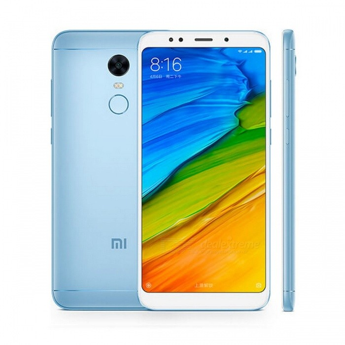 Original Xiaomi Redmi 5 Plus 5.99 Full Screen Mobile Phone with Snapdragon S625 Octa-Core MIUI9, 4GB RAM, 64GB ROM  Blue/4GBAndroid Phones<br>Description<br><br><br><br><br>Unlock Phones: Yes<br><br><br>Google Play: Yes<br><br><br><br><br>Brand Name: xiaomi<br><br><br>Battery Type: Not Detachable<br><br><br><br><br>Operation System: Android<br><br><br>Front Camera: 5MP<br><br><br><br><br>CPU Manufacturer: Qualcomm<br><br><br>Feature: Gravity Response,MP3 Playback,Fingerprint Recognition,GPRS,Touchscreen,GPS Navigation,Message,Bluetooth,Video Player,Front Camera,HD Video Player,Wi-Fi,Memory Card Slots,Email<br><br><br><br><br>Design: Bar<br><br><br>CPU: Octa Core<br><br><br><br><br>Thickness: Ultra Slim(&amp;lt;9mm)<br><br><br>Camera Type: Front &amp;amp; Back Camera<br><br><br><br><br>SIM Card Quantity: Dual SIM Cards<br><br><br>Release Date: 2017<br><br><br><br><br>Touch Screen Type: Capacitive Screen<br><br><br>Display Size: 5.99<br><br><br><br><br>Display Resolution: 2160x1080<br><br><br>Cellular: GSM/WCDMA/LTE<br><br><br><br><br>Recording Definition: 1080I<br><br><br>RAM: 4G<br><br><br><br><br>Camera: 12.0MP<br><br><br>Item Condition: New<br><br><br><br><br>Band Mode: 2SIM/Multi-Bands<br><br><br>ROM: 64G<br><br><br><br><br>Language: English<br><br><br>Display Color: Color<br>