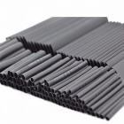 Heat Shrink Tubing 7.28m 2:1 Black Tube Car Cable Sleeving Assortment Wrap Wire Kit Polyolefin Tube 127PCs/Lot  gray