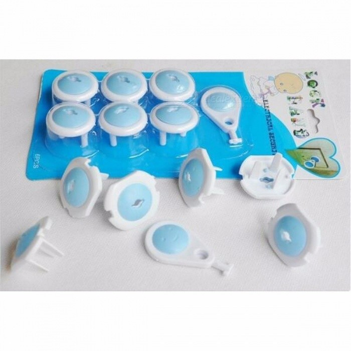 6Pcs Russian EU European Euro Standard Child Electric Socket Outlet Plug Two Phase Safe Lock Covers for Baby Kids Safety 3 FeetPlugs &amp; Sockets<br>Description<br><br><br><br><br>Material: Plastic<br><br><br>Pattern Type: Dot<br><br><br><br><br>Item Type: Electrical Safety<br><br><br><br><br><br><br><br><br><br><br><br><br>Material:Plastic<br><br><br>Quantity:<br><br> <br><br>6 X Electrical Security Lock <br><br><br>1 x Pull Key<br>