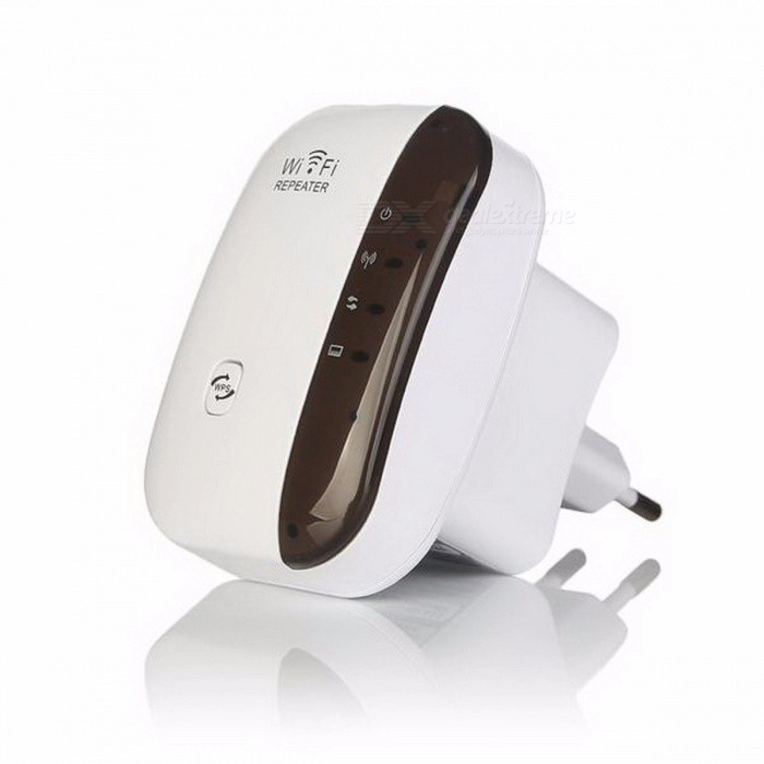 ... EASYIDEA 300Mbps Range Wireless Wi-Fi Signal Amplifier Repeater Extander, 2.4G Wi- ...