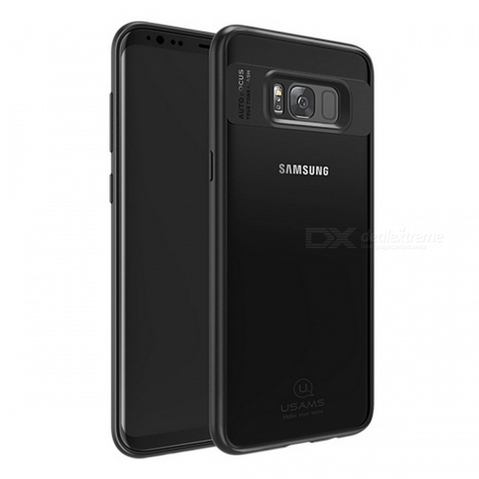 USAMS Premium Ultra Slim Thin TPU &amp; Acrylic Full Protective Case, Back Cover Shell for Samsung Galaxy For Galaxy S8/BlueTPU Cases<br>Description<br><br><br><br><br>Retail Package: Yes<br><br><br>Brand Name: USAMS<br><br><br><br><br>Compatible Samsung Model: Galaxy S8 Plus,Galaxy S8<br><br><br>Design: Glossy,Business,Transparent<br><br><br><br><br>Function: Anti-knock,Dirt-resistant<br><br><br>Type: Fitted Case<br><br><br><br><br>Compatible Brand: Samsung<br><br><br><br><br><br><br><br><br><br><br><br><br>Products Feature: <br><br><br>1.High Quality TPU?Acrylic<br><br><br>2.High Touch Sensitive&amp;nbsp;<br><br><br>3.Accurate Hole, easy to use.&amp;nbsp;<br><br><br>4.Anti - Fingerprint&amp;nbsp;<br><br><br>&amp;nbsp;&amp;nbsp;<br><br><br>Note:<br>1. Accessory ONLY, mobile phone is not included.<br>2.<br> Item color displayed in photos may be showing slightly different on <br>your computer monitor since monitors are not calibrated same. <br><br><br>&amp;nbsp;&amp;nbsp;<br><br><br>Specifications: <br><br><br>Compatible Device : For Galasy S8 S8 plus&amp;nbsp;&amp;nbsp;<br><br><br>&amp;nbsp;&amp;nbsp;<br><br><br>Package List: <br><br><br>1* case for&amp;nbsp;Galaxy s8 or&amp;nbsp;case for&amp;nbsp;Galaxy s8 plus<br>