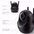 Reolink 4MP HD Pan/Tilt 2.4/5Ghz Dual Band WiFi Indoor Wireless Home Security IP Camera(C1 Pro)
