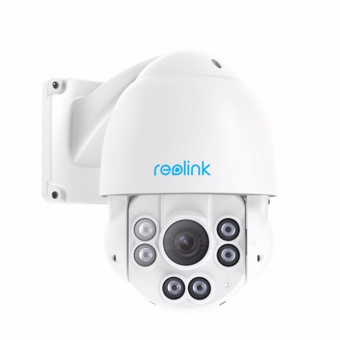 Reolink RLC-423-5MP Waterproof 5.0MP 3072*1728 Pan/Tilt 4X Optical Zoom HD Motorized Lens Security Cam, POE PTZ IP Camera