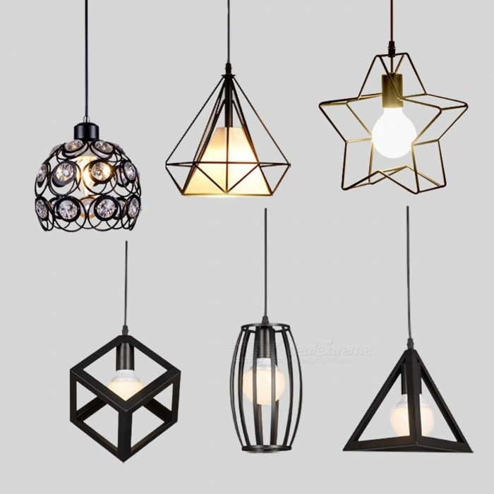 Modern Minimalist North American Industrial Style E27 Pendant Light Lamp for Restaurant Dining Room Decoration Lighting BO 021BPendant Lights<br>Description<br><br><br><br><br>Item Type: Pendant Lights<br><br><br>Finish: Iron<br><br><br><br><br>Voltage: 220V<br><br><br>Certification: CE,VDE,CCC<br><br><br><br><br>Technics: Painted<br><br><br>Power Source: AC<br><br><br><br><br>Body Material: Iron<br><br><br>Installation Type: Cord Pendant<br><br><br><br><br>Base Type: E27<br><br><br>Place: Study,Parlor,Hotel Hall,Hotel Room,Master Bedroom,other bedrooms<br><br><br><br><br>Light Source: LED Bulbs<br><br><br>Brand Name: LONKOEY<br><br><br><br><br>Lighting Area: 3-5square meters<br><br><br>Application: Dining Room<br><br><br><br><br>Is Bulbs Included: No<br><br><br>Style: Modern<br><br><br><br><br>Lampshade Color: Black<br><br><br>Is Dimmable: No<br><br><br><br><br>Material: Metal<br><br><br>Number of light sources: 1<br><br><br><br><br>Switch Type: Other<br><br><br><br><br><br><br><br><br><br><br><br><br>Item description: Pendant Light <br><br><br>Long: 100cm<br><br><br>Material: Metal<br><br><br>Lamp Holder: 1pcs * E27<br><br><br>Light source:&amp;nbsp;Incandescent light/Energy saving lamp/LED/<br><br><br>Voltage: 120V&amp;nbsp;/&amp;nbsp;220V-240V<br><br><br>Application places: Sitting room/Bedroom/Hotel/Leisure area/Club/Bar/Cafe room<br><br><br>This Pendant Light including : 1pcs* E27lamp holder + 1pcs*Ceiling Rose + 100cm Core<br><br><br>&amp;nbsp;<br><br><br>Pls Note: <br><br><br>1.This Product is Not Including the Light Bulbs,you need to purchase it.<br>
