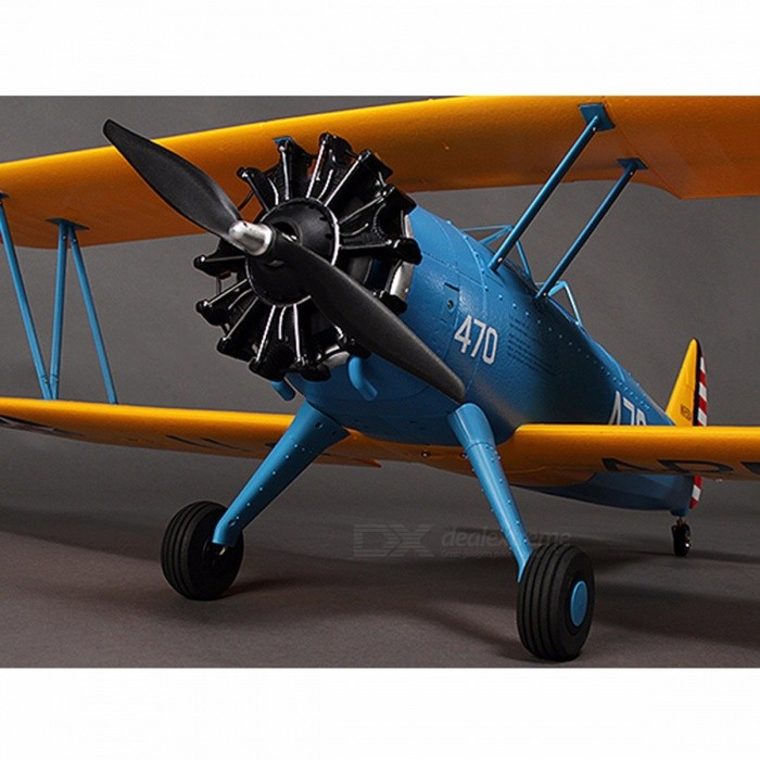 PT-17 Unique Boeing Stearman Trainer Remote Control Aircraft Aeromodelling RC Plane Model PNP Radio Controlled Airplane