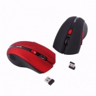 HXSJ X50 Universal Portable 2.4GHz Wireless Optical Gaming Mouse, Mechanical Mice for Computer PC Games Black