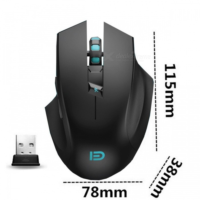 c817c765a7c i720 2400DPI Silent Click Noiseless 6D Optical Wireless Gaming Mouse with  Customized Key for PC Laptop