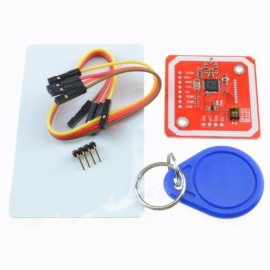 PN532 NFC RFID Wireless Module V3 User Kit w/ Reader Writer Mode IC S50 Card PCB Attenna I2C IIC SPI HSU for Arduino corlorful