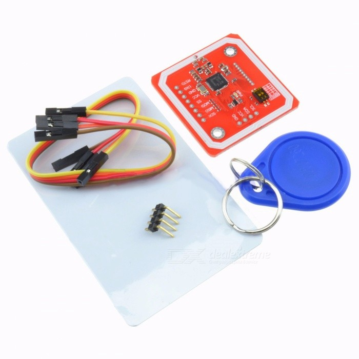 PN532 NFC RFID Wireless Module V3 User Kit w/ Reader Writer Mode IC S50 Card PCB Attenna I2C IIC SPI HSU for Arduino