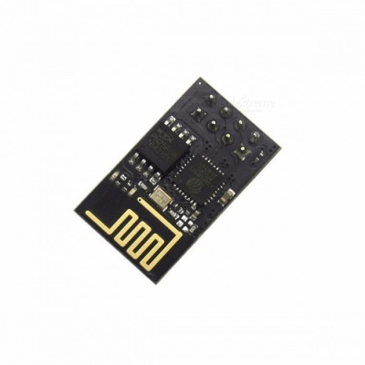 ESP8266 ESP-01 ESP01 Serial Wireless Wi-Fi Module Transceiver Receiver Board LWIP AP+STA for Arduino DIY Kit black