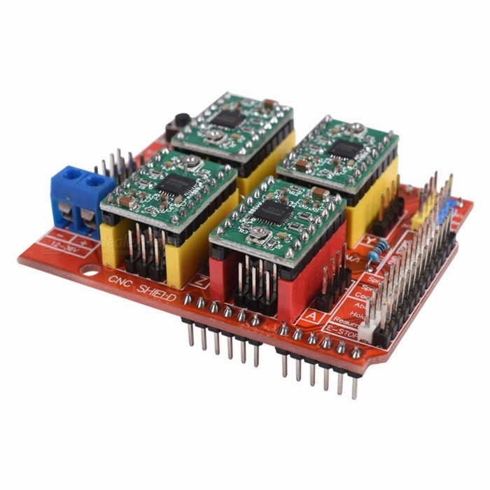 Cnc shield expansion board v uno r with usb