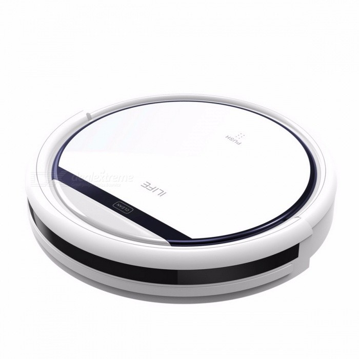 ILIFE V3S Pro Anti Collision Self Charging Robot Vacuum Cleaner, Home Household 600Pa Suction Sweep Machine for Pet Hair