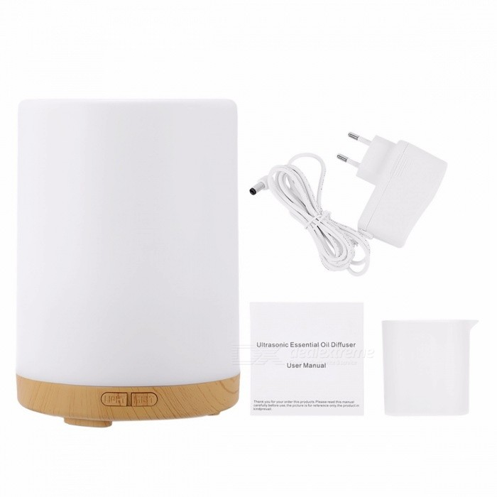 Homgeek 200Ml Ultrasonic Aroma Essential Oil Diffuser Air Humidifier Mist Maker w/ 7-Color LED Light for Home Office