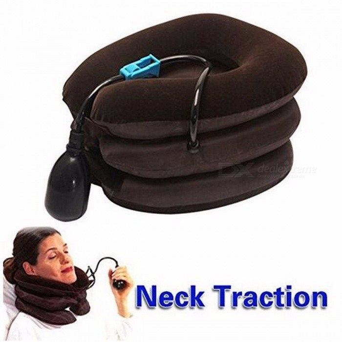Pain Relief Massager Neck Nerves Pressure Tension Headaches Hammock Traction Device Cervical Posture Alignment Support