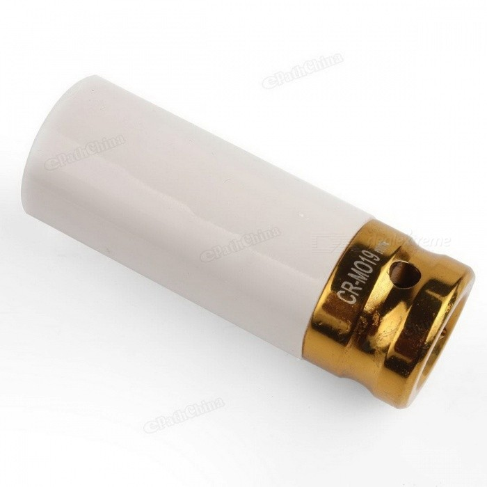 High Corrosion Resistance 3X Thin Wall Deep Impact Nut Socket Alloy Wheel 1/2in Drive 17mm 19mm 21mm Size