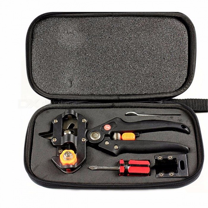 Bonsai Secator Garden Tool Kit with 2 Extra Blades, Grafting Pruner Gardening Scissors Pruning Shear, Fruit Tree Cutter Tapener Normal packagingOther Tools<br>Description<br><br><br><br><br>Feature: Anti-Slip Grip,Folding,Long Length,Telescopic,FSC<br><br><br>Finishing: PTFE Coated<br><br><br><br><br>Pruning Tool Type: Pruners<br><br><br>Brand Name: lange<br><br><br><br><br>Material: Metal<br><br><br>Pruner Type: Bypass<br>