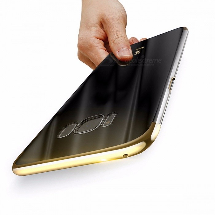 Baseus Ultra Thin Lightweight Luxury Plating Hard PC Plastic Phone Case, Back Cover for Samsung Galaxy