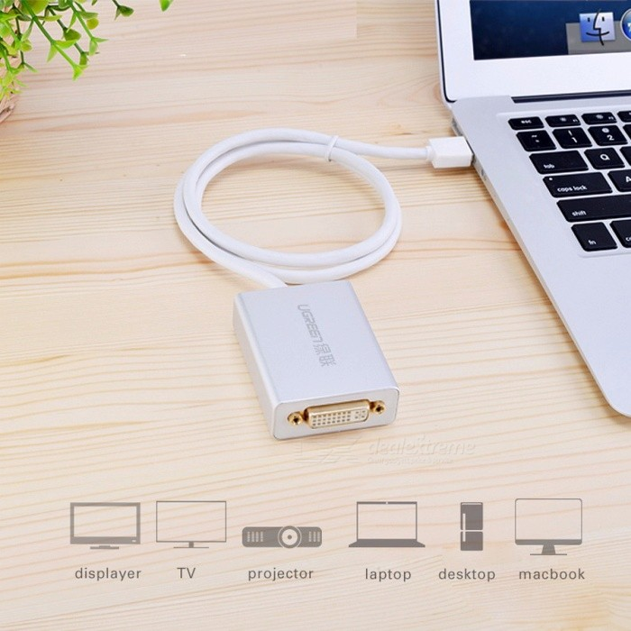 Ugreen USB 3.0 to DVI/HDMI/VGA External Mult-Display Adapter, High Premium 1066MHz  80cm Cable Adapter, Support 6 Mointors