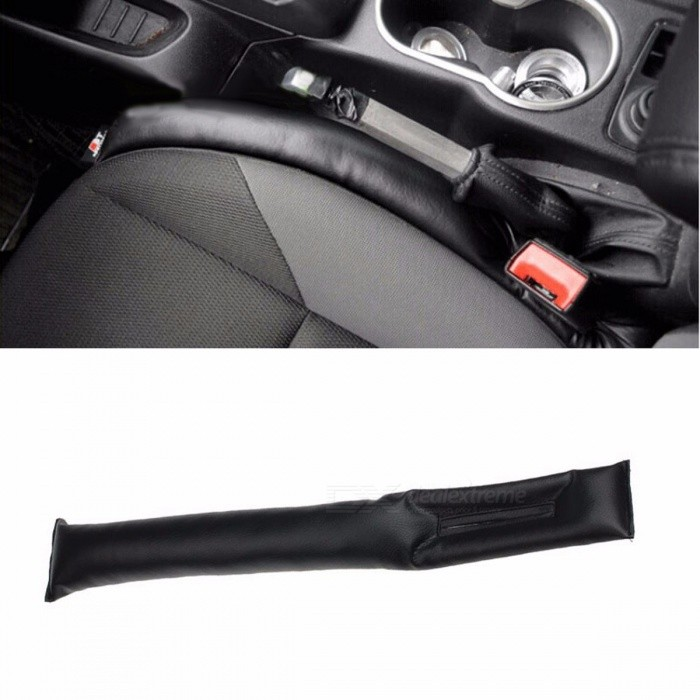 Automobile Car PU Leather Faux Leather Car Seat Pad Gap Filler High Quality Practical Spacer Filler Padding