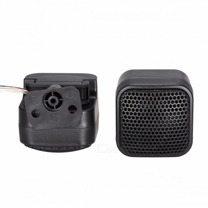 High Quality Stylish Super Power Loud Audio Square Designed Cool Speaker Tweeter for Car Automobile - Pair