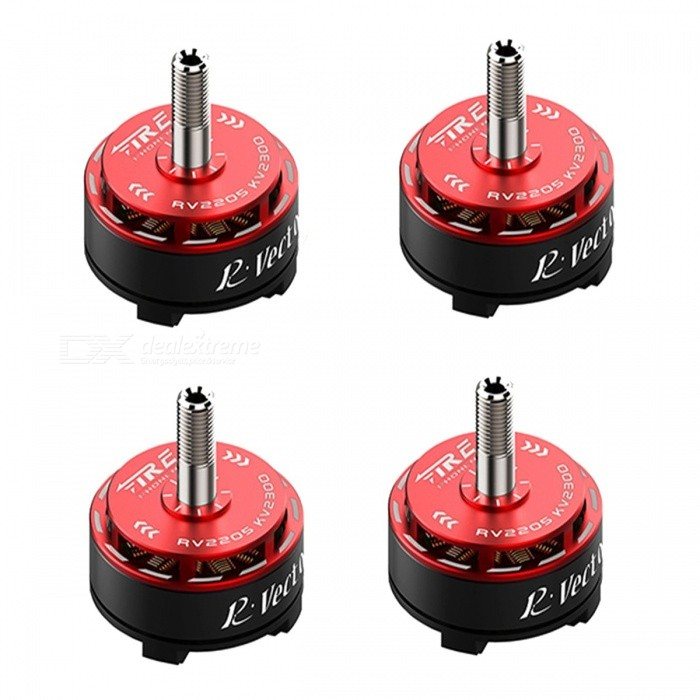 2205 Brushless Motor 2300KV/2500KV Fire Phoenix RV Series For FPV QAV250 RC Drone Quadcopter Multirotor - 4PCS