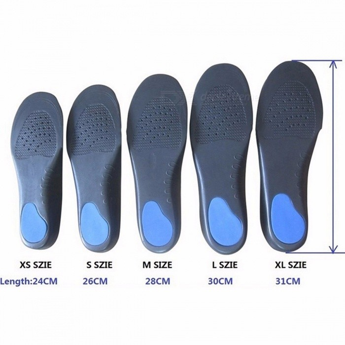 EVA Orthotic Insoles Adult Flat Foot Arch Support Orthotics Orthopedic Insoles for Men and Women Feet Health Care Pad