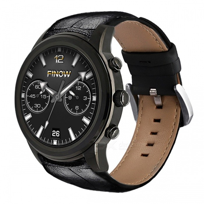 Finow X5 Air Smart Watch MTK6580 Quad Core Watchphone Android 5.1 3G Bluetooth Smartwatch 2GB RAM 16GB ROM for Andorid/IOS