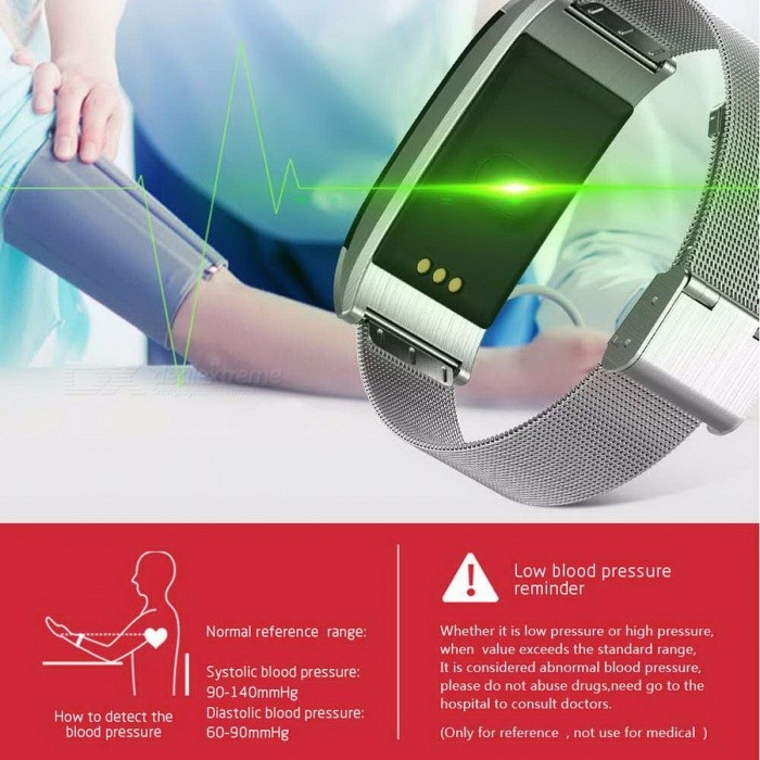 A66 Smart Bracelet Bluetooth V4.0 Smart Band Waterproof Wristband Pedometer Watch Heart Rate Blood Pressure Blood Oxygen Monitor