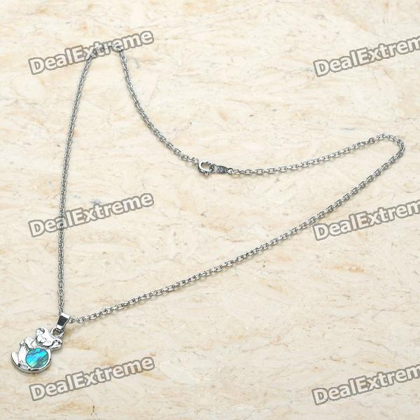 Fashion Zinc Alloy Necklace (44CM-Length)