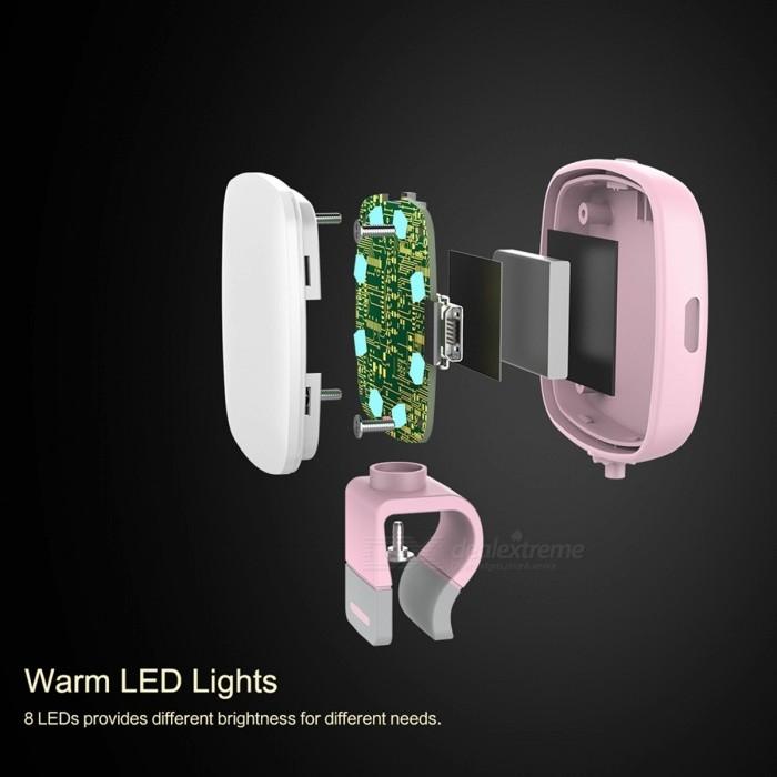 ROCK O2 Cool Portable Phone Selfie Light Mobile Phone Camera Flash LED Light High Quality and Practical