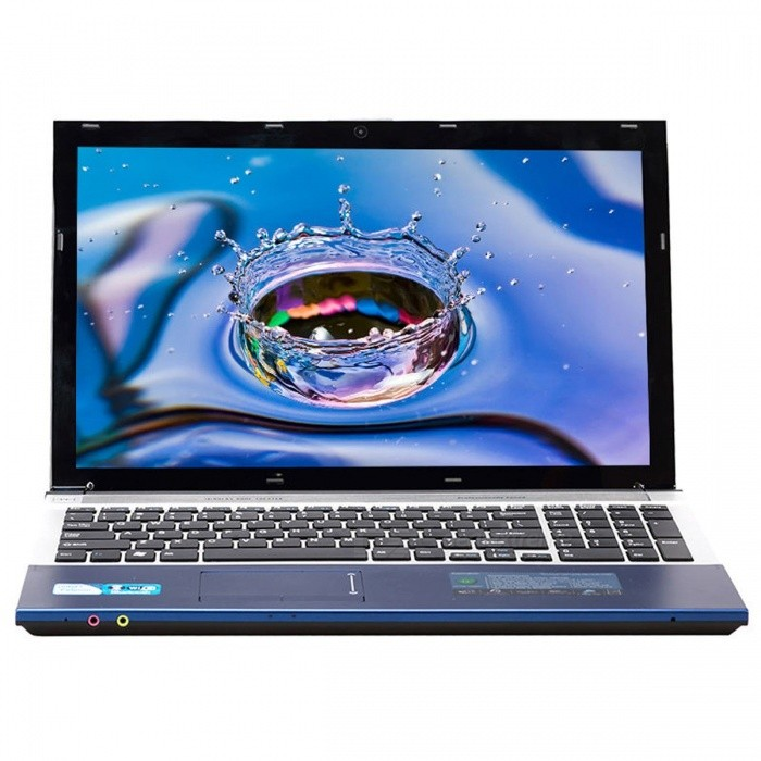 Windows 7/10 Laptop Notebook 15.6 Inch Intel Core i7 CPU 8GB RAM + 240GB SSD + 750GB HDD Built-in WIFI Bluetooth DVD-ROM