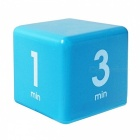 ISHOWTIENDA Clock Timer Alarm Cube, Digital 5, 15, 30, 60 Minutes Time Management Timer Alarm for Kitchen Office Green