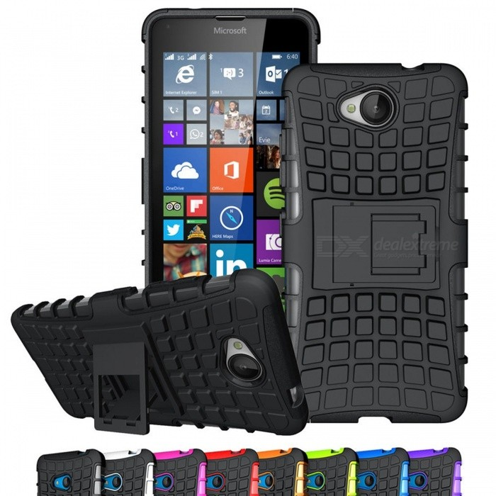 AIGLAT Protective Case Cover Hard PC + TPU Shockproof w/ Stand Function for Microsoft Nokia Lumia 640 950 XL 730 735 640XL 950XL For Lumia 640 XL/blackPlastic Cases<br>Description<br><br><br><br><br>Design: Geometric,Abstract<br><br><br>Function: Kickstand,Anti-knock,Dirt-resistant,Heavy Duty Protection<br><br><br><br><br>Type: Half-wrapped Case<br><br><br>Retail Package: No<br><br><br><br><br>Compatible Brand: Nokia<br><br><br>Brand Name: AIGLAT<br><br><br><br><br><br><br><br><br>Model Number 1: for Microsoft Nokia Lumia 640 5.0inch <br><br><br>Model Number 2: for Microsoft Nokia Lumia 640 XL 5.7inch <br><br><br>Model Number 4: for Microsoft Nokia Lumia 950 5.2inch <br><br><br>Model Number 5: for Microsoft Nokia Lumia 950 XL 5.7inch <br><br><br>Model Number 6: for Microsoft Nokia Lumia 730/735 5.0inch <br><br><br><br><br><br><br><br>100% Brand New mobile phone case.<br><br><br>Case for Microsoft&amp;nbsp;Nokia Lumia 640/640 XL/730/735/950/950XL<br>