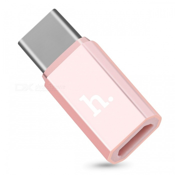 HOCO Micro USB Female Adapter to Type-C Male Charging Data Sync Converter for Micro-USB Cables for Samsung Xiaomi Huawei