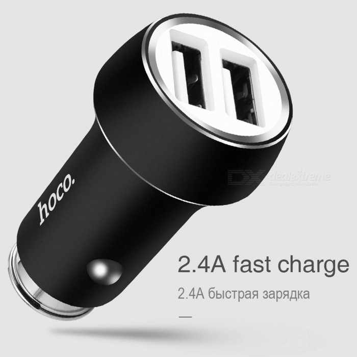 Learned Mini Car Usb Chargers With Led Soft Light 5v 2.4a Quick Charge Mobile Phone/tablet/driving Recorder/game Machine Fast Charging Exquisite Craftsmanship; Consumer Electronics