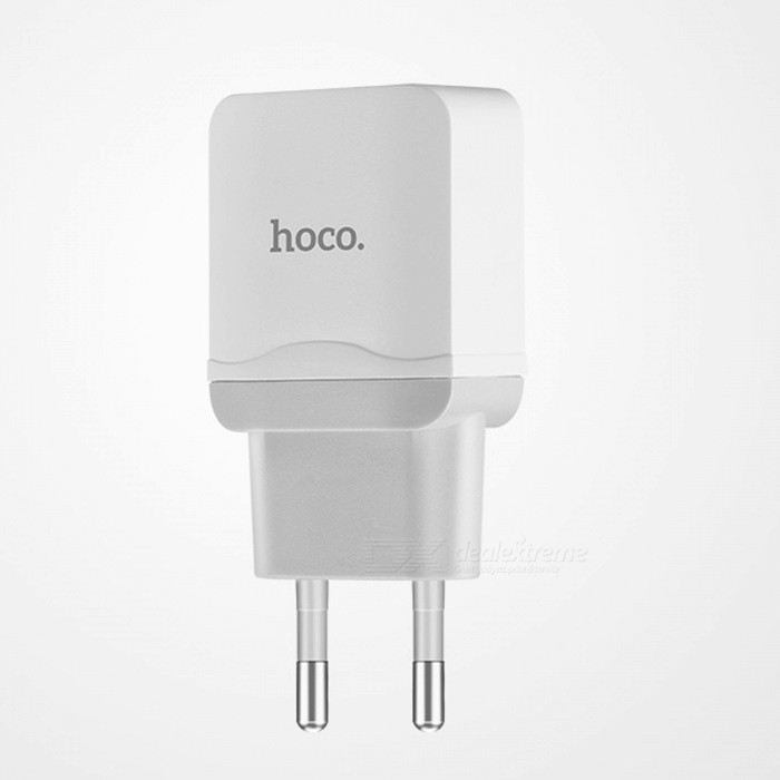 HOCO Universal 5V 2.4A USB Charger Adapter with Charging Cable EU Plug Portable Wall Travel Charger for IPHONE X Samsung Xiaomi